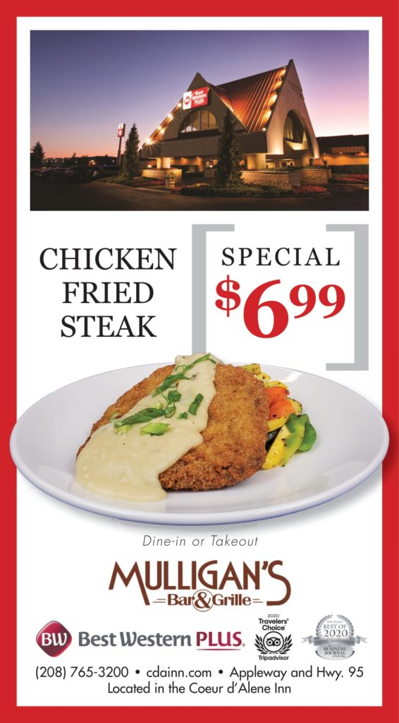 Chicken Fried Steak Special Feb 22 2021-1